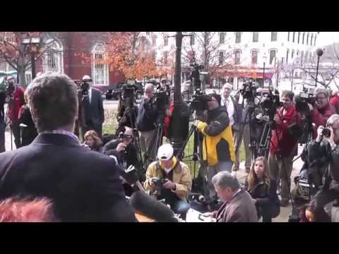 John Ziegler Holds Fiery Press Conference Attacking the Media After Jerry Sandusky's Appeal Hearing