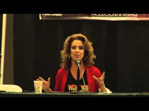 Claudia Wells Q & A Panel  HOT Con 2016  AFK  Austin