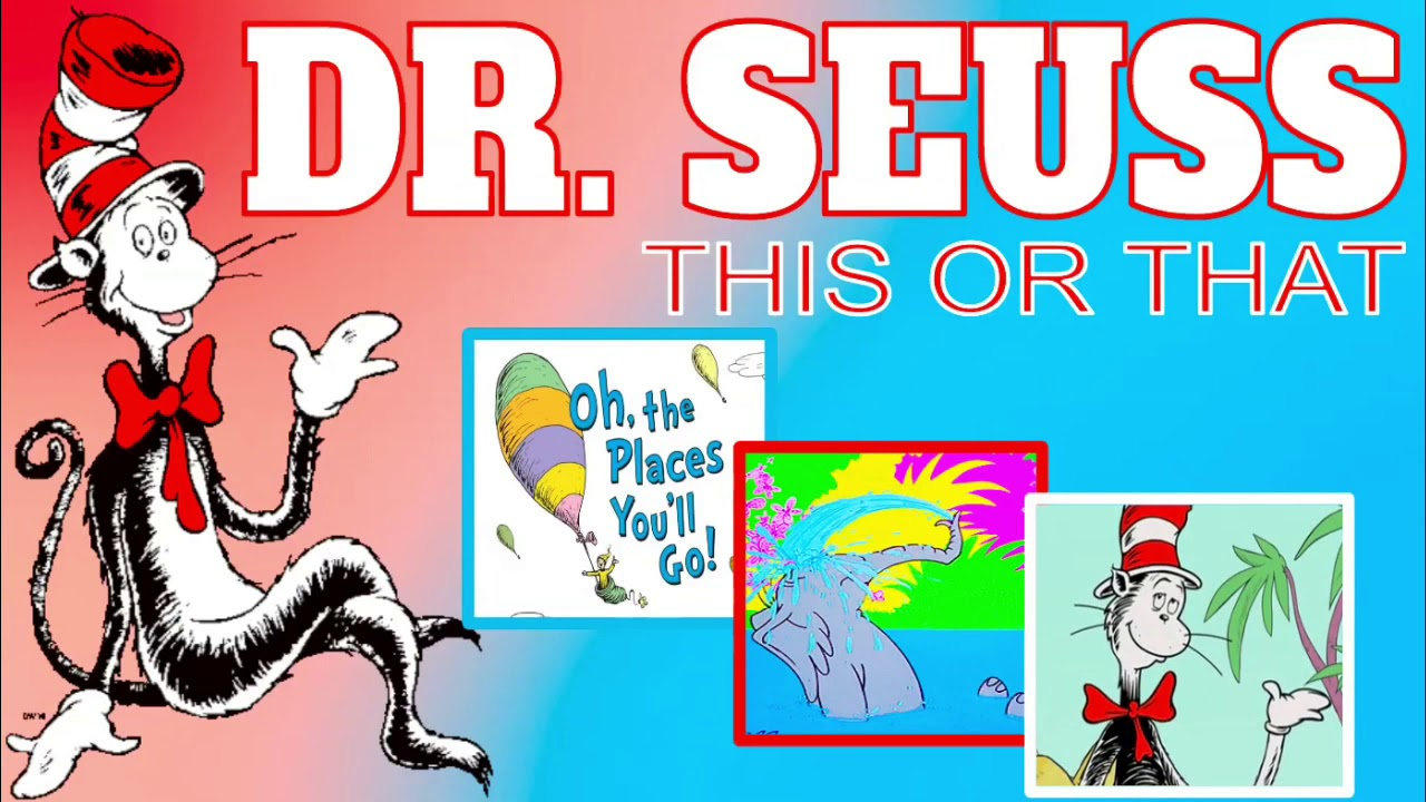 Dr Seuss This Or That Read Across America Tabata Kids Workout Youtube