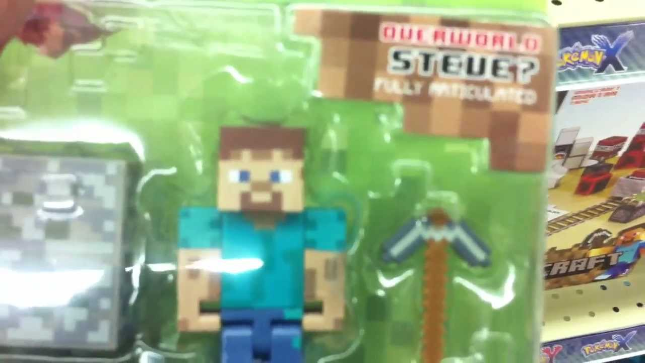 Minecraft New Toysrus Toy S Figures Plushes And More