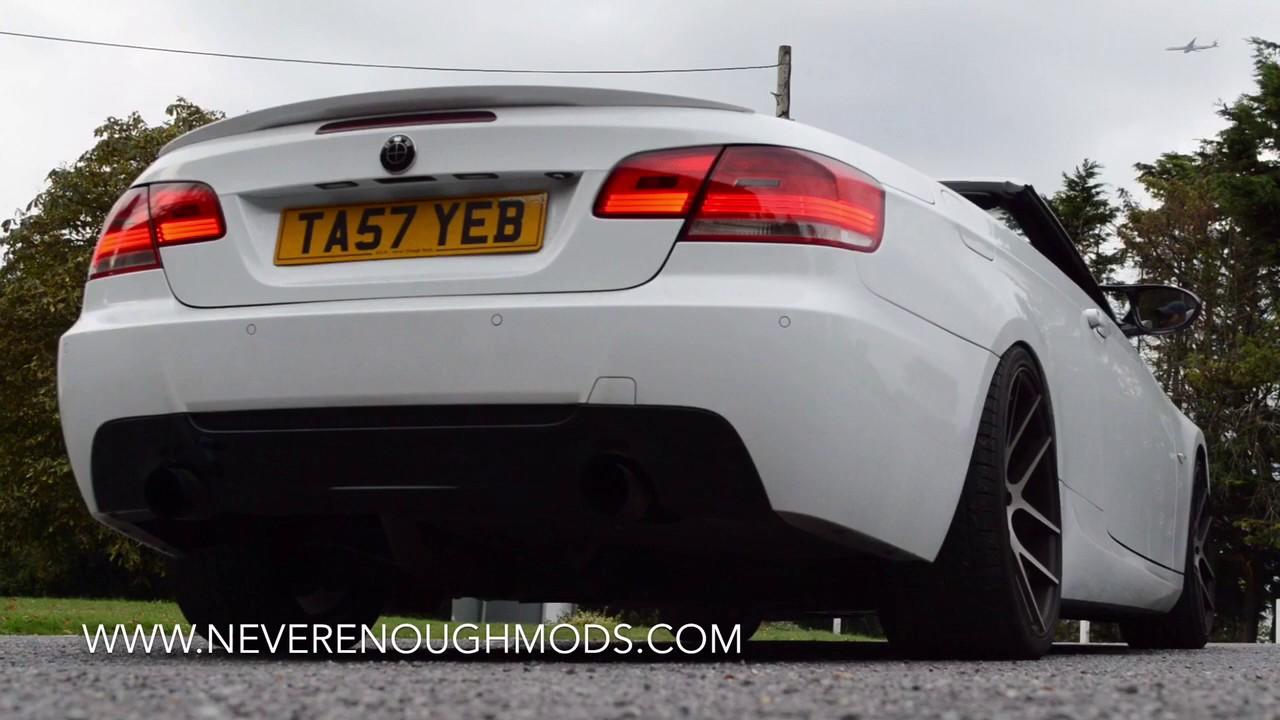 BMW E93 330i Custom Loud Exhaust Mod