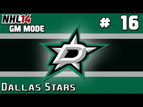 NHL 14: GM Mode Commentary - Dallas Stars ep. 16 - Free Agency War