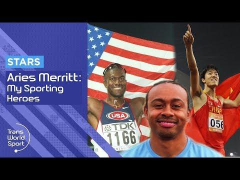 Aries Merritt | My Sporting Heroes Allen Johnson & Liu Xiang | Trans World Sport
