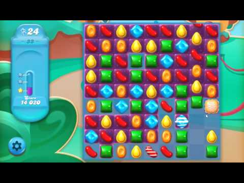 how to play candy crush saga level 33