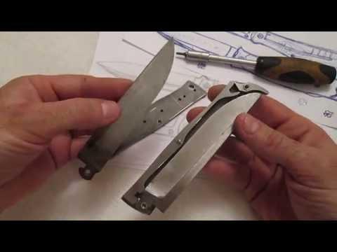 Снова о ноже: улучшенный замок запирания клика.