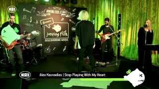 Alex Kavvadias - Stop Playing With My Heart (Live @ Jumping Fish Studio 10/10/14)