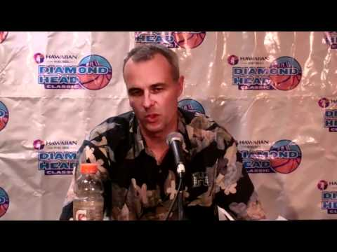 Hawaii-Xavier Post Game Press Conference