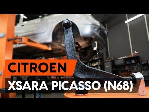 Как заменить передний рычаг подвески CITROEN XSARA PICASSO (N68) [ВИДЕОУРОК AUTODOC]