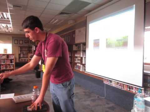Kyrene del Pueblo Middle School Author Visit 1-29-16 Part 5