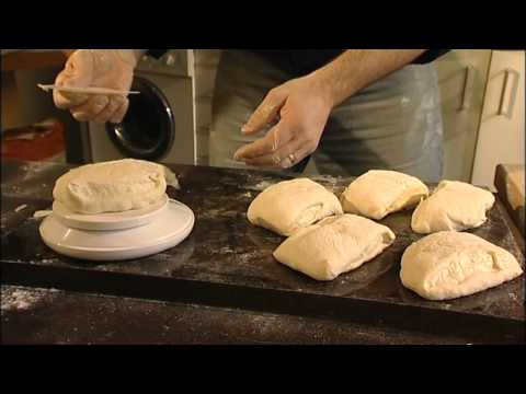 Richard Bertinet making bread (DVD from the book DOUGH)