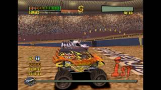 Monster Trux Extreme Arena Edition PS2 Gameplay HD