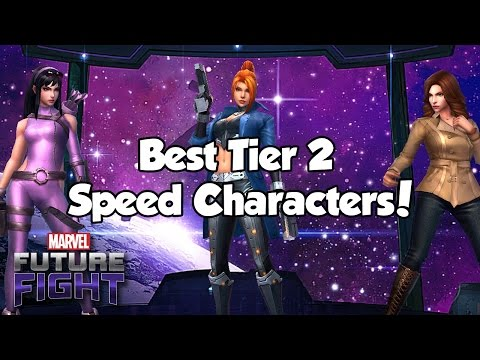 [Marvel Future Fight] Best Tier 2 Speed Characters!