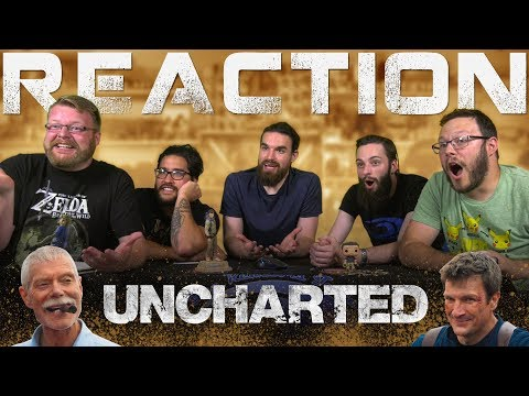 UNCHARTED  Live Action  Film 2018 Nathan Fillion REACTION!!