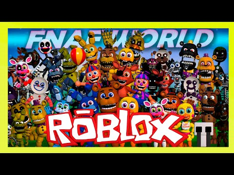 Roblox – SEJA UM PERSONAGEM DE FNAF (Animatronic World)