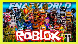 ROBLOX-BE a CHARACTER OF FNAF (Animatronic World)