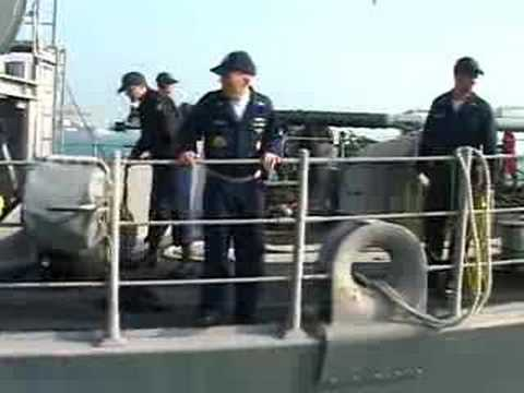 Mine Countermeasure Ship Arrives in Bahrain