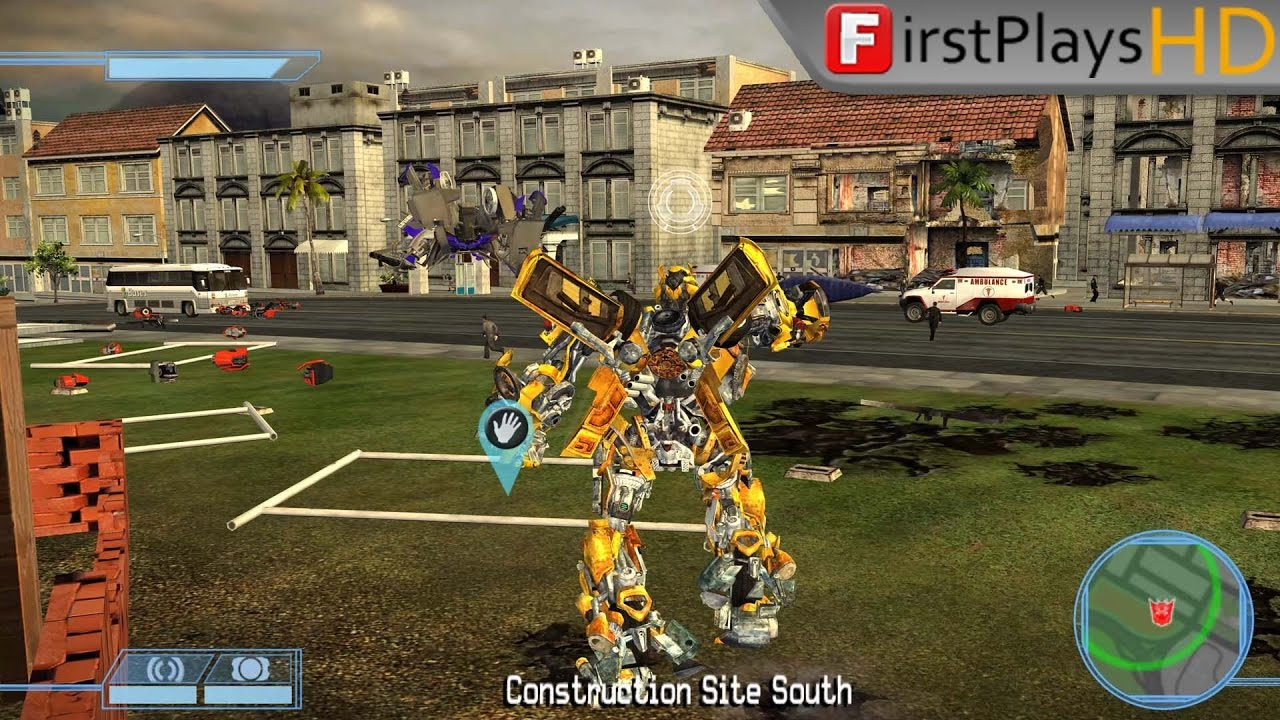 transformers the game 2007 pc gameplay win 10 youtube. Black Bedroom Furniture Sets. Home Design Ideas