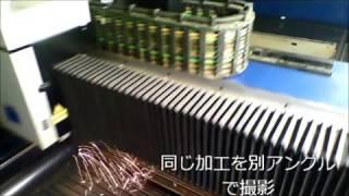 レーザー鉄パイプ切断