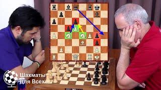 Шахматы. Накамура - Каспаров: НАСТОЯЩИЙ ТРИЛЛЕР на шахматной доске!