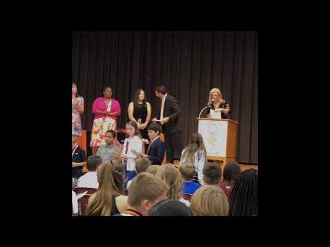 Cooper Stuart's 5th Grade Pocahontas Elementary School Award Ceremony 2019