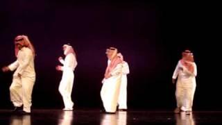 Saudi's Dance at SVSU SAMBA سامبا