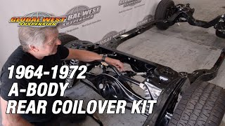 Good Information About Rear Coilover Kits For 1964-72 A-bodies