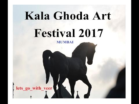 Kala Ghoda Art Festival 2017 | very first vlog | 1st DAY | Mumbai
