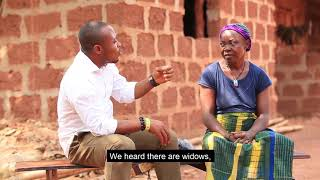A thriller of one of the widows who receives salary from the Ebonyi state Governor  Mr. Umahi