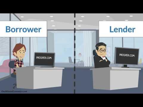 Peer-to-Peer Lending (AKA P2P Loans or Crowdlending) Explained in One Minute