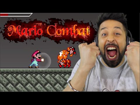 SUPER MARIO KOMBAT FIGHTING GAME!!!
