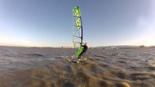 Freestyle Brian:  Windsurf Tack and Heli-Tack