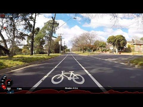 Lama Rides: Tour de Burbs (28km Hilly Melbourne Loop)