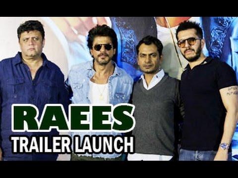 Raees Official Trailer 2016 Launch | Shahrukh Khan, Nawazuddin Siddiqui | Full HD Video