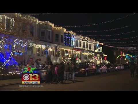 Baltimore Makes Best Holiday Lights In The U.S. List