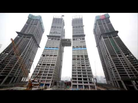 Raffles City Chongqing Conservatory Lifting