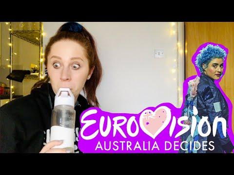 BRITISH GIRL REACTS TO AUSTRALIA DECIDES WINNER // EUROVISION 2020
