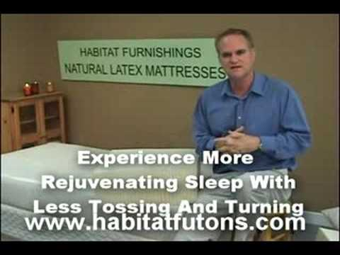 Natural Latex Mattress Line From Habitat Furnishings
