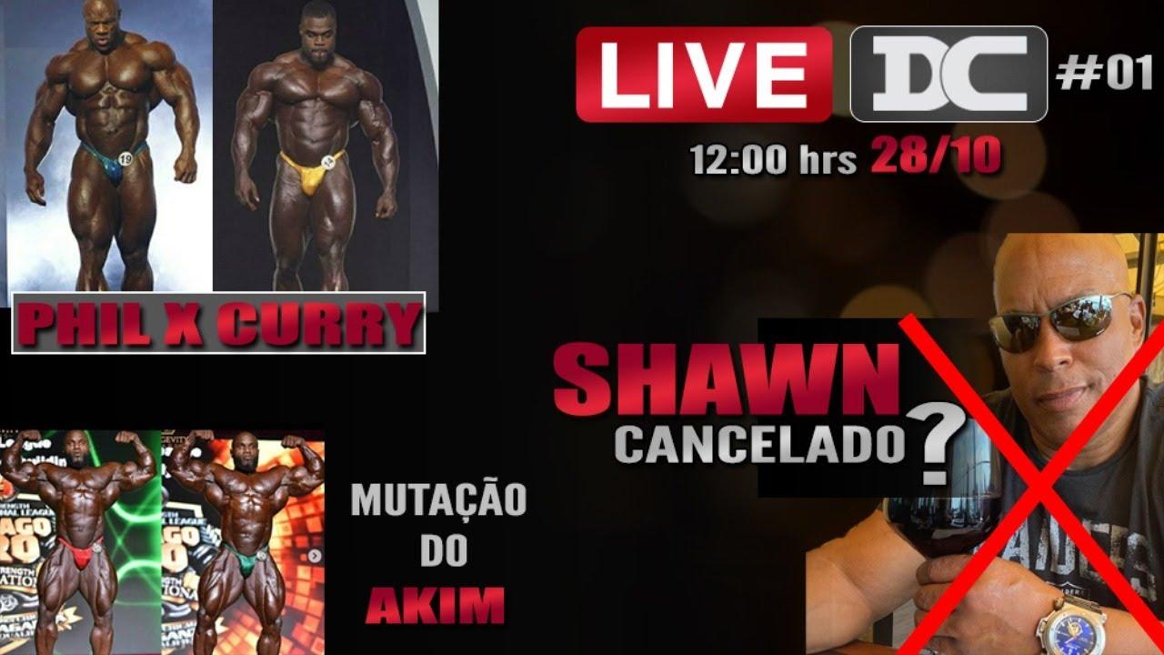 Live do Almoço - Phil x Curry + Akim Willians + Shawn Ray Cancelado + Markus Ruhl