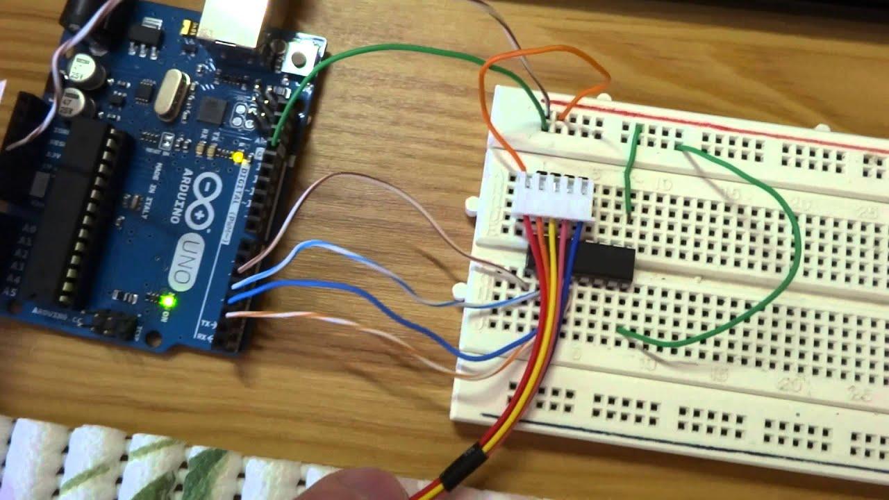 Arduino UNO - step motor 28BYJ-48 tutorial - SK-EN FullHD