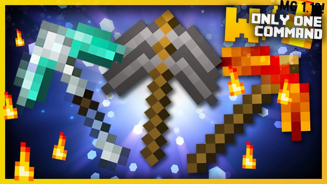 Minecraft op mining tools with only two commands - Minecraft outils ...