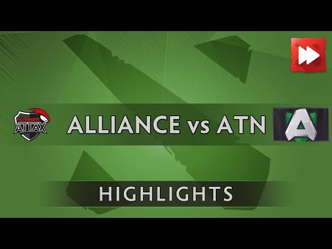 Alliance vs Team Alternate Attax - Kiev Major - Dota Highlights