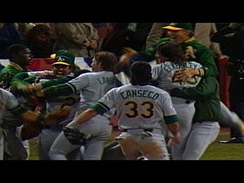 1989 WS Gm4: A's complete the sweep
