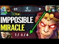 IMPPOSIBLE COMEBACK !! ALL Skills about Monkey King - by Miracle Dota 2