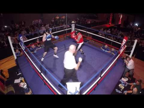 Ultra White Collar Boxing   Halifax   Phil Smythe VS Anthony Hickey