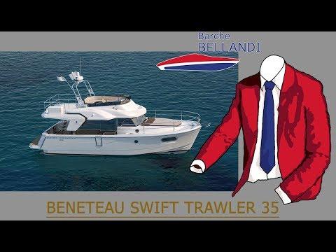 SWIFT TRAWLER 35 [novità dalle prove Beneteau di Barcellona]