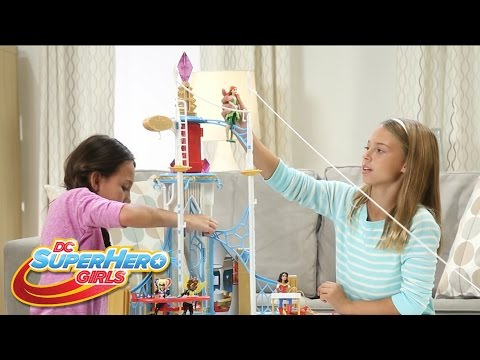 Dc Super Hero High School Play Set Unboxing Fun Dc Super Hero