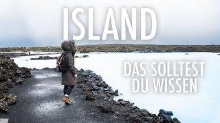 ISLAND • DINGE DIE DU WISSEN SOLLTEST