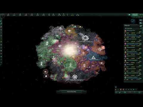 """Stellaris v.3.0.1. """"Dick"""" full timelapse  """