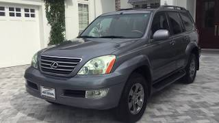 2005 Lexus GX470 AWD SUV Review and Test Drive by Bill - Auto Europa Naples