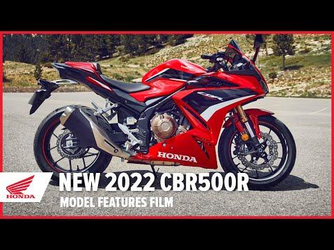 New 2022 CBR500R Model Features Film